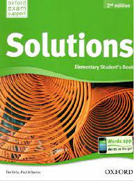 Solutions elementary student's book key