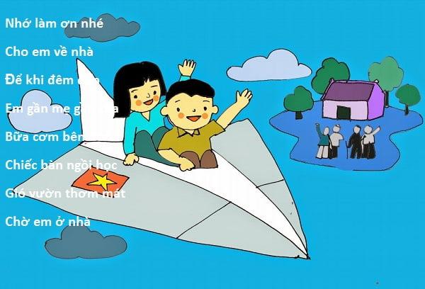 lời bài thơ ơi chiếc máy bay