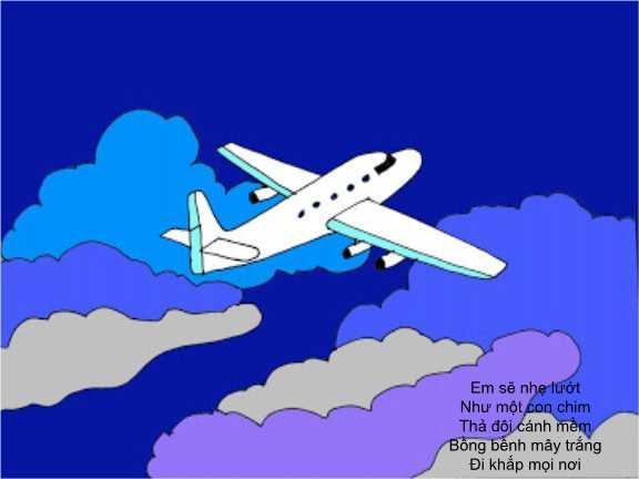 bài giảng điện tử thơ ơi chiếc máy bay