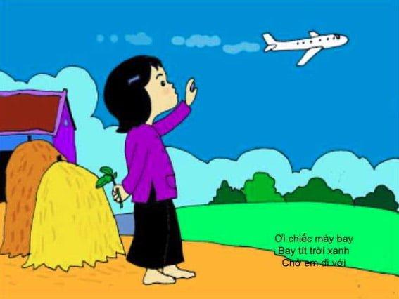 Bài thơ ơi chiếc máy bay